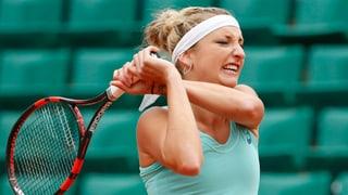 Bacsinszky schlägt Venus Williams und steht im Viertelfinal