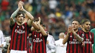 Milan aus Europacup ausgeschlossen