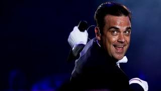 Robbie Williams ganz aus dem Häuschen über Luzerner Guggemusig
