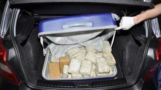 In Cham wurden 30 Kilo Heroin sichergestellt
