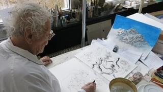 Hans Erni: «Ich fülle einfach weisse Blätter mit meinen Gedanken»