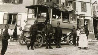 Das älteste Fahrzeug Europas am Schwingfest (Artikel enthält Audio)