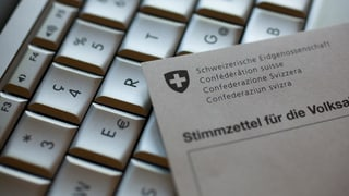 Schweizer wollen elektronisch abstimmen können