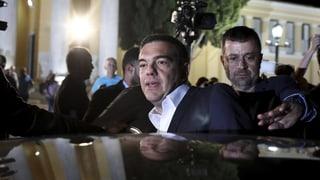 Ministerpräsident Tsipras muss gehen