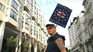 Hunderttausende demonstrierten für zweites Brexit-Referendum