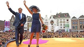 Wegen Willem-Alexander und Máxima: Holländer in Ekstase