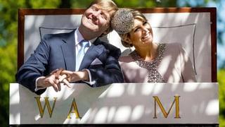 Willem und Máxima: Ein Königspaar zum Anfassen – und zum Küssen