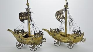 St. Galler Museum übergibt Silberpokale an Erben