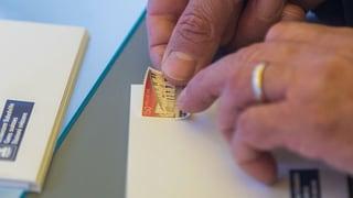 Post verschickt zwei Gratis-Briefmarken an Haushalte