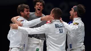 Schweizer Degen-Team triumphiert in Paris