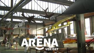Video «Kampfjet-Gripen Ja oder Nein? » abspielen