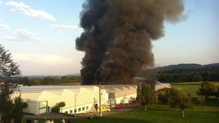 Grossbrand in Gewächshaus unter Kontrolle