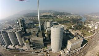 Jura Cement schafft Platz für 15'000 Tonnen Zement