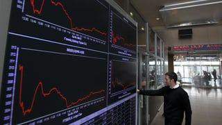 Athener Börse auf Talfahrt