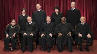 Das sind die obersten amerikanischen Richter