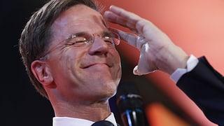 Premier Rutte gewinnt, Wilders zweitstärkste Kraft: Am 16. März hat die Niederlande gewählt. Eine Übersicht.