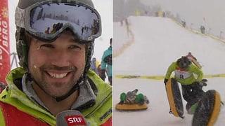 Schneereif-Weltmeister: André Reithebuch wirft sich zum Sieg