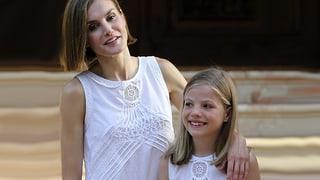 Modischer royaler Nachwuchs im spanischen Königshaus