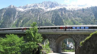 SBB will die Gotthard-Bergstrecke touristisch besser vermarkten