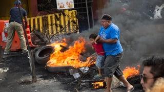 Honduras Regierung verhängt Ausgangssperre