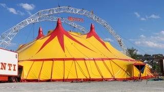 Neues Zelt für artistische Höhenflüge