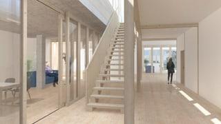 Nova staziun d'urgenza en il Waldhaus