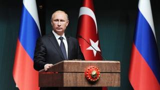 Putins Muskelspiel in Ankara