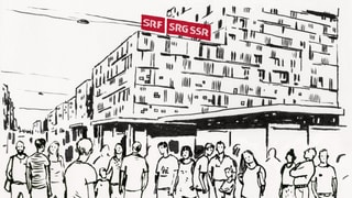 Publikumstag: Blick hinter die Kulissen am SRF Standort Basel
