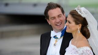 Madeleine und Chris O'Neill feiern «bis zum Sonnenaufgang»