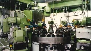 Maschinenbau statt Uhren