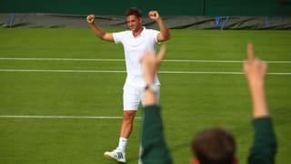 Marcus Willis: Der Mann, der im letzten Jahr Wimbledon-Geschichte schrieb