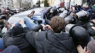 Saakaschwili will sich seiner Festnahme weiterhin widersetzen