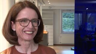 Susanne Vincenz, die Frau fürs Stöckli