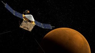Nasa sucht das Leben auf dem Mars