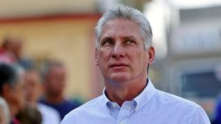 Díaz-Canel ist neuer Präsident von Kuba