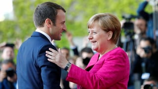 Merkel und Macron planen umfassende Reform der Euro-Zone
