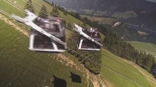 Video «Weltneuheit Cabriobahn: Oben ohne auf den Berg » abspielen
