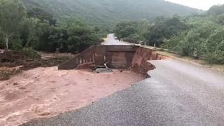 Zyklon wütet über Mosambik und Simbabwe