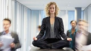 Wenn Manager meditieren: Achtsamkeit erobert die Wirtschaft