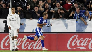 Real taucht – Juventus marschiert