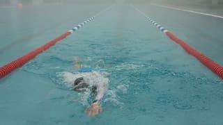 «Gestern war ein Schwimmer da»