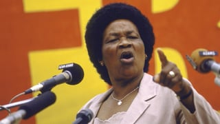 Albertina Sisulu: Die Kämpferin im Schatten von Mandela