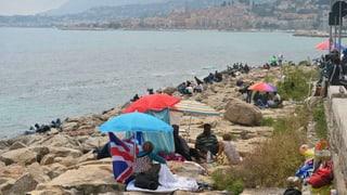 Frankreich schafft Platz für Flüchtlinge