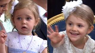 Entzückende Taufe: In Schweden regieren die Mini-Royals