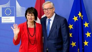 Gespräche in allen Dossiers Schweiz-EU sind deblockiert