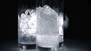 Unhygienische Eiswürfel in Restaurants (Artikel enthält Video)