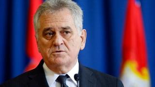 Serbiens Präsident entschuldigt sich für Srebrenica