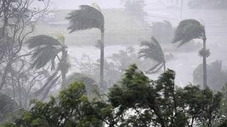 Wirbelsturm wütet an der australischen Nordostküste