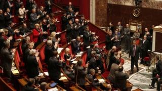 Französisches Parlament diskutiert über Homo-Ehe