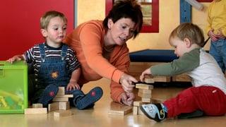 Nationalrat verlängert Finanzspritze für Kinderkrippen